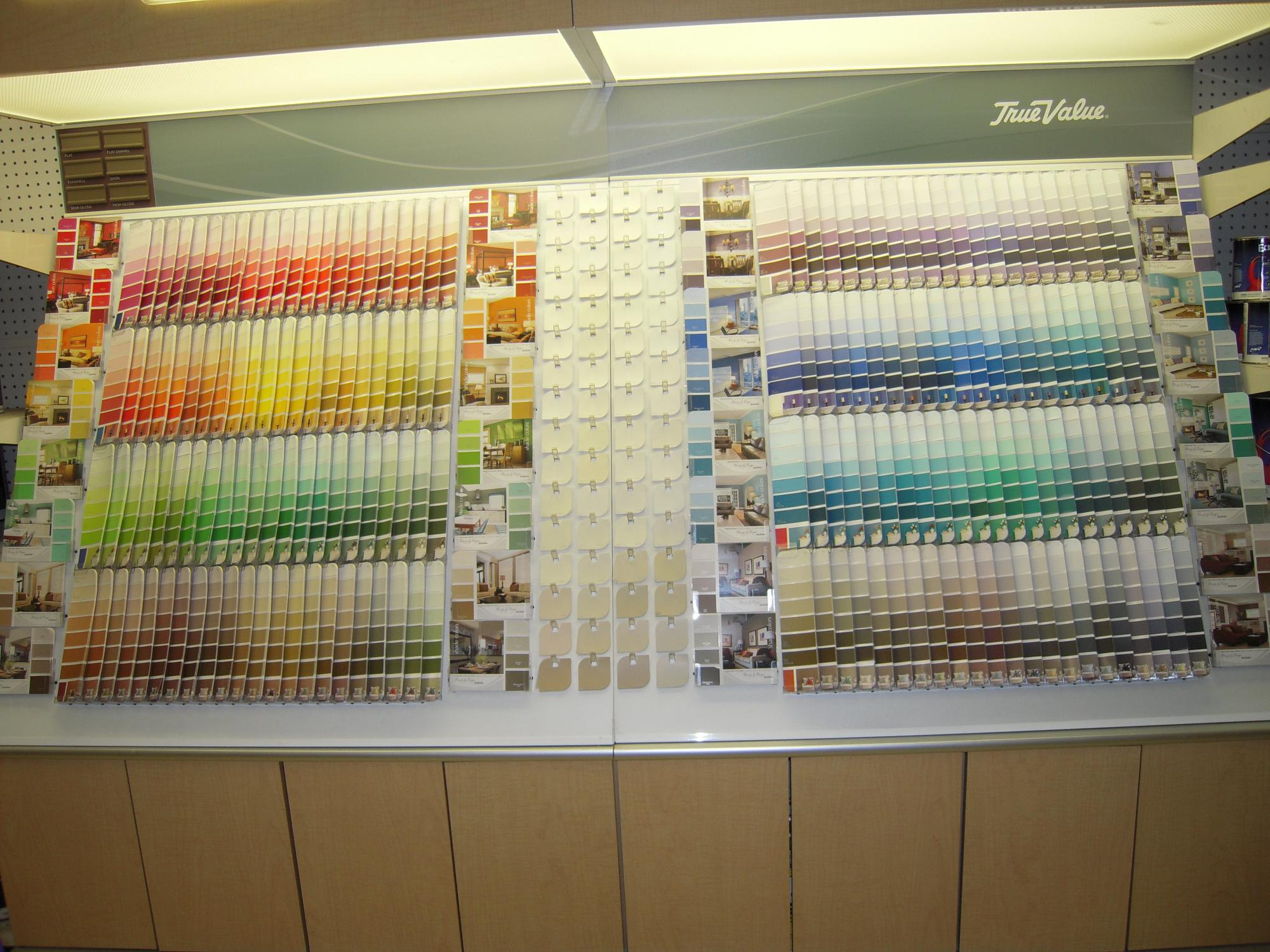 True Value Paint Has More Than 2 000 Colors From Which To Choose
